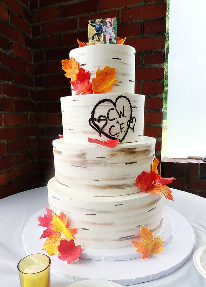 fall weddings, pittsburgh bakery
