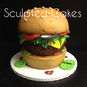 Sculpted Cakes